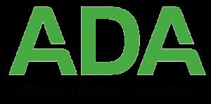 transparent green logo for the American Dental Association