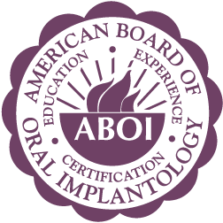 logo for the American Board of Oral Implantology